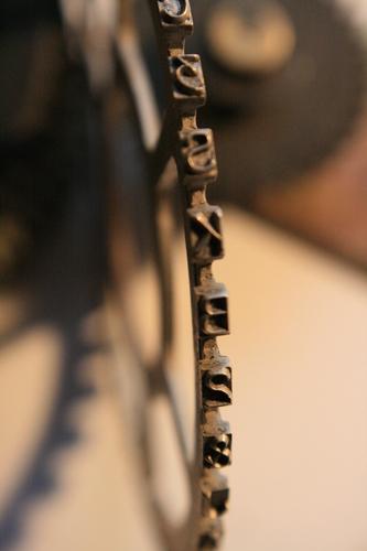 [Picture: printwheel 2: a slight angle]