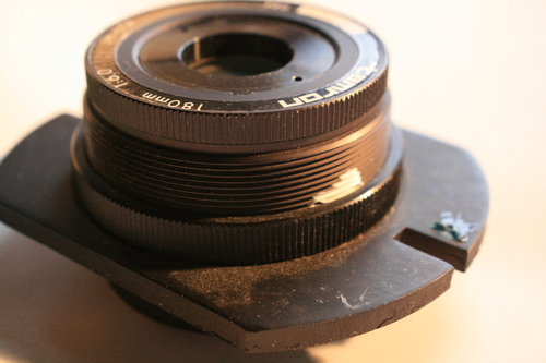 [Picture: tamron photocopier lens 2: side view]