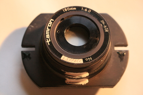 [Picture: tamron photocopier lens 7: front view]