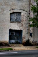 [picture: Old wooden garage door 2]