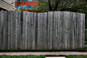 [picture: Wooden fence]