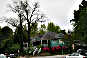 [picture: North Carolina House with trees]