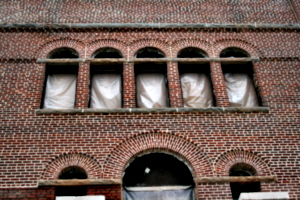 [Picture: Brick arched windows]