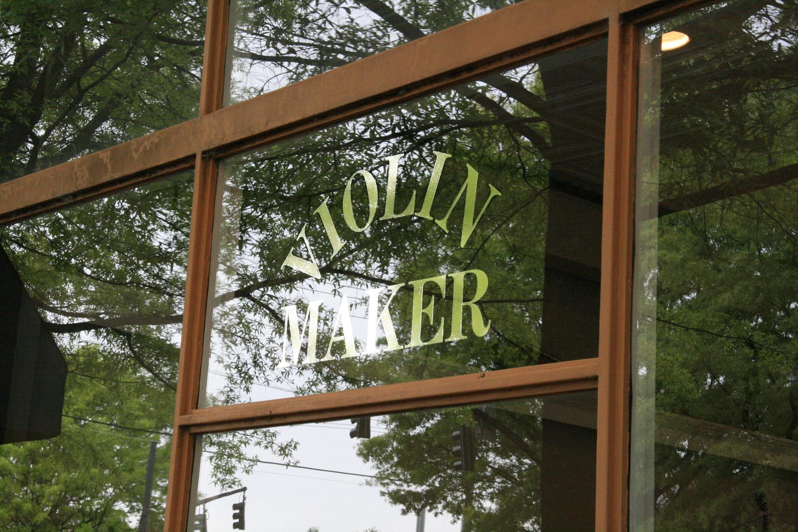 [Picture: Violin Maker]