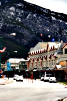 [picture: Banff Avenue]