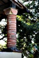 [picture: Brick pillar]