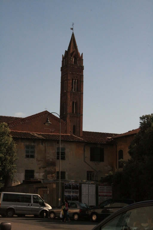 [Picture: A church tower in Pisa]