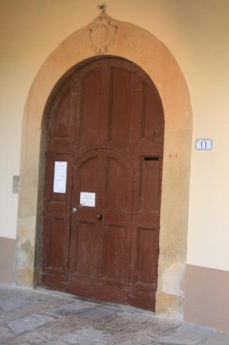 [Picture: Monastery door]