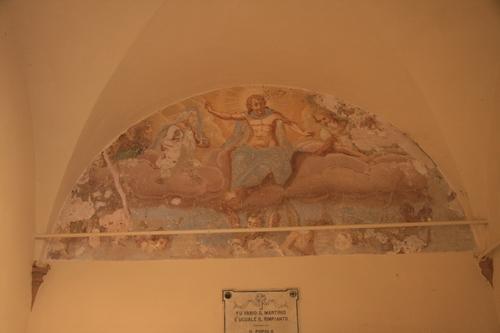 [Picture: Fresco in chapel]
