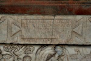 [picture: Second century sarcophagus 2]