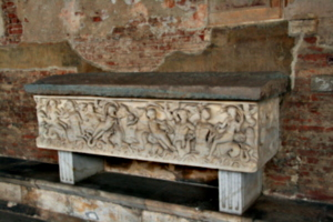 [picture: Stone Sarcophagus]