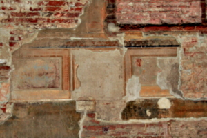 [picture: Mural fragments]