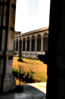 [picture: Camposanto Cloister Courtyard 1]