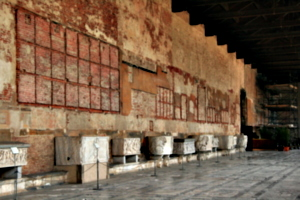 [picture: Camposanto long gallery]