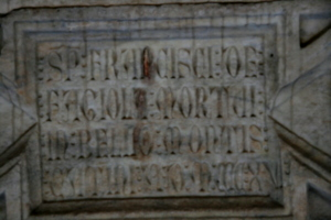 [picture: Angel Box 1: Medieval Inscription]
