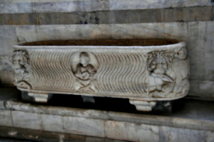 [picture: Another one, mid 3rd century stone sarcophagus]