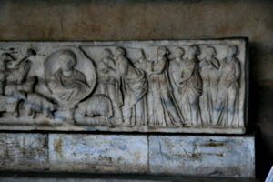 [picture: Sarcophagus with Romans 1]