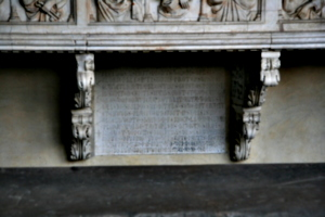 [picture: Inscription bearing the date 1321]