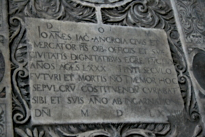 [picture: John died in 1574]