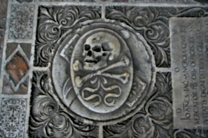 [picture: Oval Skull and Crossbones 1]