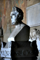 [picture: Bust of a bearded man]