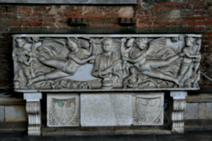 [picture: Sarcophagus with inscription 1]
