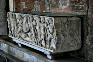 [picture: 3rd century sarcophagus]