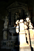 [picture: Stone monuments]