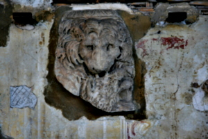 [picture: Fragment with animal head]