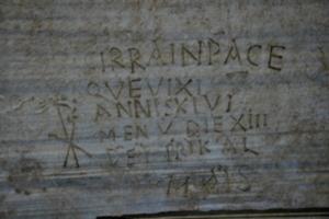 [picture: Christian inscription]