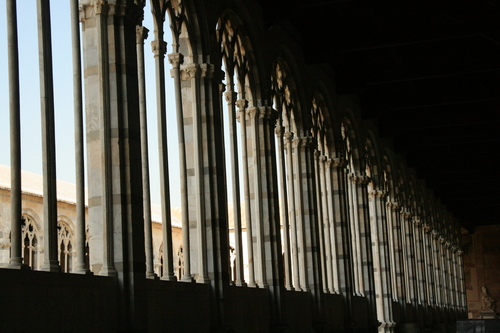 [Picture: Cemetery Cloister Windows 2]