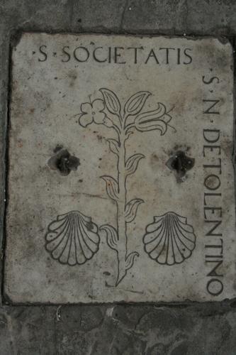 [Picture: Gravestone slab 2]