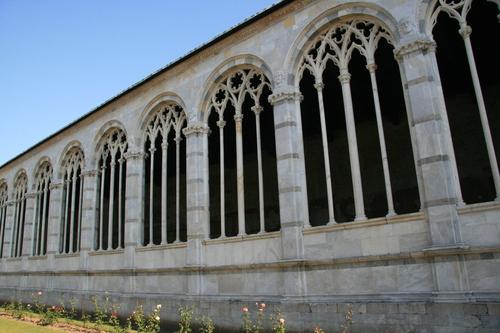 [Picture: Camposanto Cloister 2]