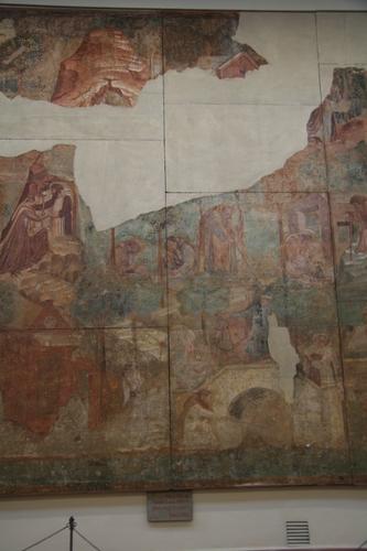 [Picture: fresco detail]