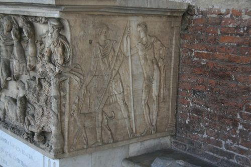 [Picture: Second Century A.D. Sarcophagus 1]