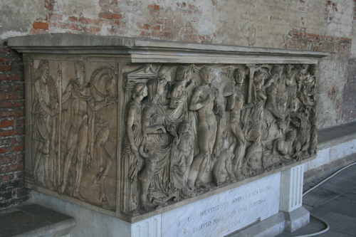 [Picture: Second Century A.D. Sarcophagus 2]