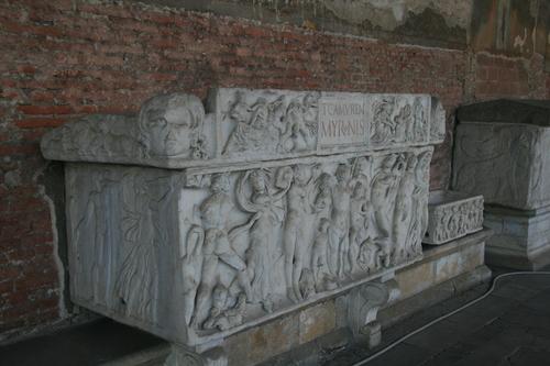 [Picture: Bacchic Scene Sarcophagus 1]