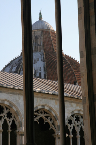 [Picture: The baptistry dome 1]