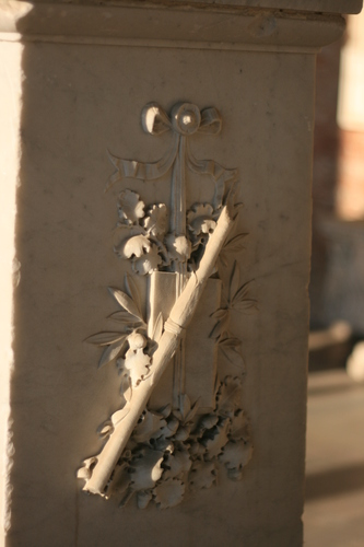 [Picture: Carved decoration]