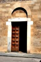 [picture: Door, half-open]
