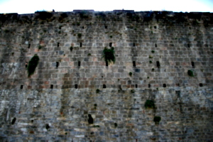 [picture: ancient city wall]