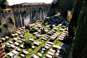 [picture: Jewish Cemetary 7: crowded]