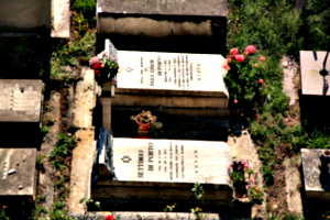 [picture: Jewish Cemetary 9: two graves]