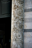 [picture: Carved pillar (detail)]