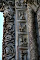[picture: Carved Baptistry Entrance side-panels 1]