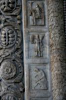 [picture: Carved Baptistry Entrance side-panels 4]