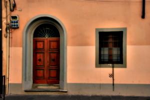 [picture: Arched door]