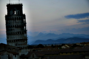 [picture: Evening Tower]