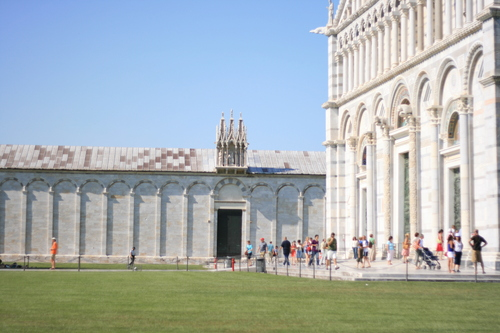 [Picture: Pisa Cathedral and Cemetary]