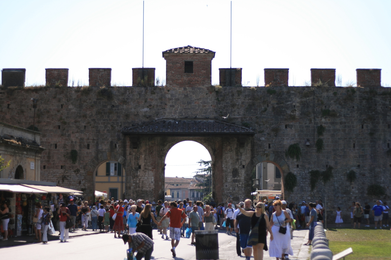 [Picture: Fortified city wall]